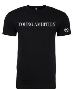 men black crewneck young ambition