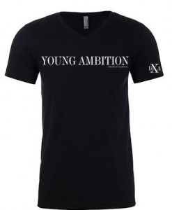 men black vneck young ambition