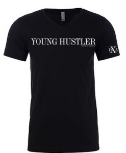 men black vneck young hustler