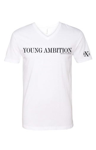 men white vneck young ambition