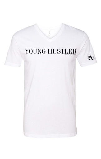 men white vneck young hustler