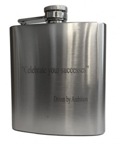Engraved Premium Flask - Celebrate