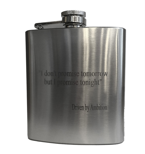 Engraved Premium Flask – Promise Tonight