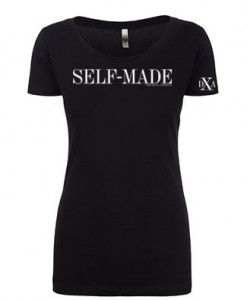 women scoop black selfmade